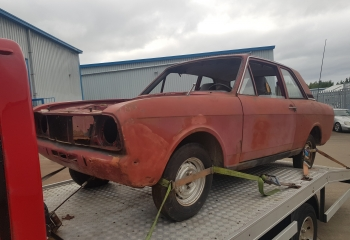 Cortina 2 Door Rolling Shell - LHD