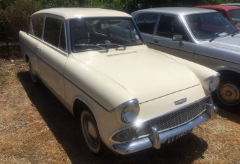 Ford Anglia White