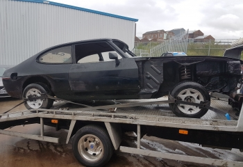 FORD CAPRI 2.8 ROLLING SHELL FOR SALE
